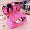 2016 Waterproof Women Girl Lady Portable Travel Bra Underwear Lingerie Organizer Bag Cosmetic Makeup Toiletry Wash