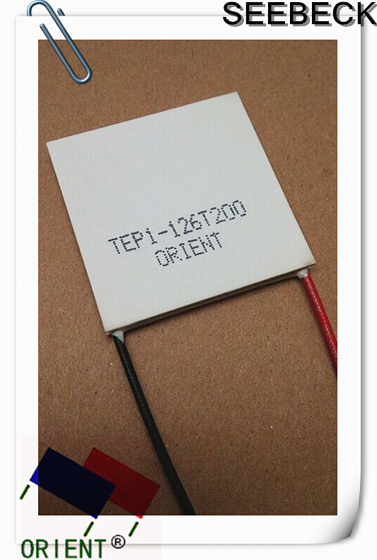 SEEBECK original authentic industrial grade temperature thermoelectric power generation chip TEP1-126T200 40 * 40mm(China (Mainland))