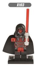 Single Sale Deadpool Figure Star Wars Marvel Super Heroes Avengers Batman Minifigures Building Blocks(China (Mainland))