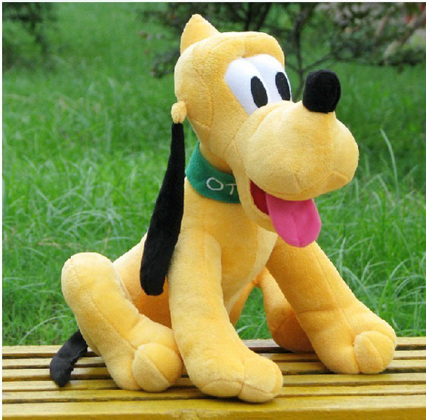 30CM Original Pluto Dog Plush Toy Goofy Mickey Minnie Mouse Donald Duck Soft Dolls toys Kids Brinquedos With Free Shipping(China (Mainland))