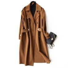 AYUNSUE 2018 Мода 100% шерсть женское осеннее пальто зимние длинные куртки для женщин тренчи для пальто будущих мам женская одежда casaco feminino 37105(China)
