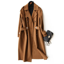 AYUNSUE 2019 Мода 100% шерсть женское осеннее пальто зимние длинные куртки женские тренчи Женская одежда casaco feminino 37105(China)