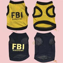 Buy 'FBI' Letter print, Cute Lovely Small dog Puppy Pets Vests Clothes XS, S, M, L for $1.19 in AliExpress store