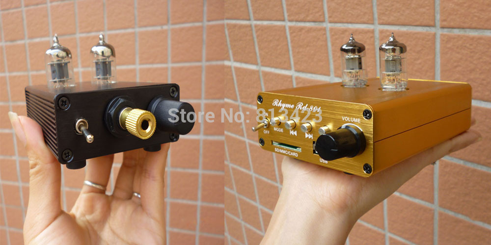 Class A tube amp sound rhyme 6J1 bold pre- amp tube ear MP3 USB decoding DIY(China (Mainland))
