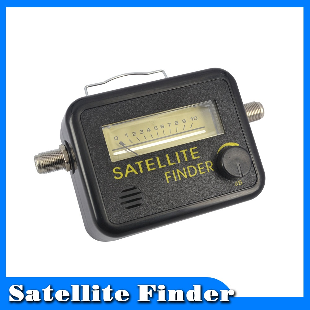 useful digital satellite finder meter fta lnb directv signal pointer satv satellite tv receiver. Black Bedroom Furniture Sets. Home Design Ideas