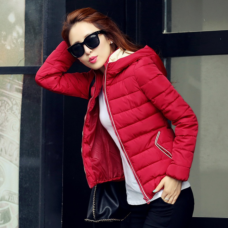 T 2015 thickening wadded jacket female short design plus size slim thin cotton-padded jacket outerwearОдежда и ак�е��уары<br><br><br>Aliexpress