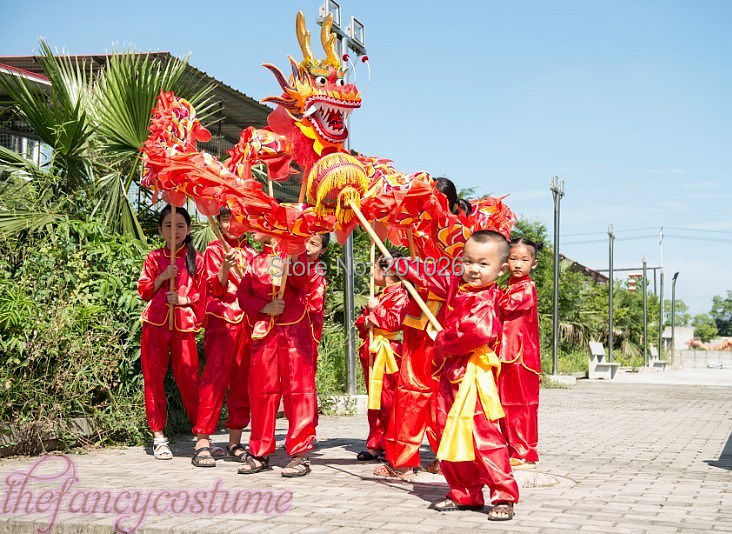 how to make a chinese dragon dance costume