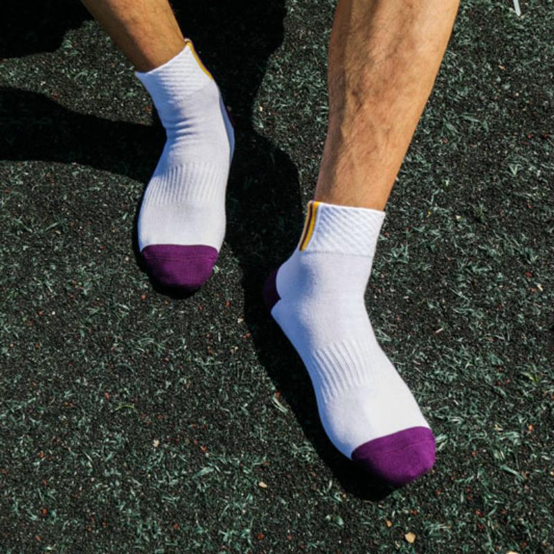 HX086 Spring Summer Cotton Socks Men Socks Men Sports Basketball Socks Wholesale(China (Mainland))