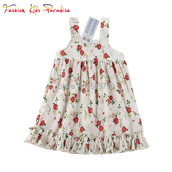France Kids Designer Clothes Online In Europe Children Dresses Girl Summer