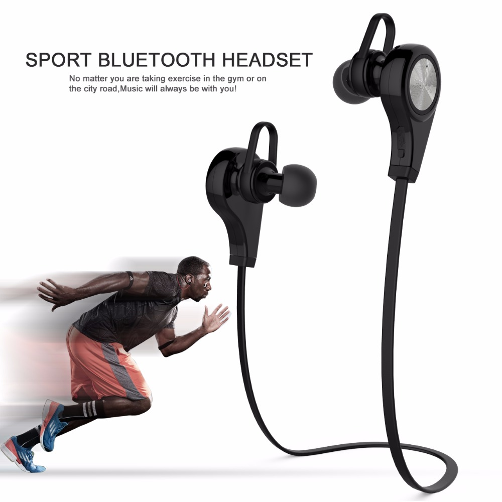 2017 New Smart Sport In-ear Bluetooth Earphone Handsfree Earbuds Wireless Earphones with Microphone for iphone 7 Mobile phone(China (Mainland))