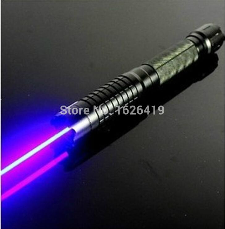 Top- COOL!!LASER!!New High Power 2000mw 445nm Blue Laser Pointer Pen Adjsutable Focus Visible Beam Cigarette Lighter-Free Ship - wang yaochen's store