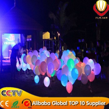 100pcs/lot free shipping Aliexpress led light balloon for 2014Chrismtas decoration led balloon flashing colorful with CE&ROHS