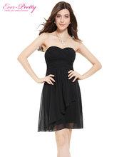 [Clearance Sale] Bridesmaid Dresses Ever Pretty HE03540SB Wedding Sweetheart Neckline Strapless Short vestidos Women Dresses(China)