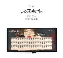 0.07C New fashion 6D mink eyelash Natural Thick False Fake Eyelashes Eye Lashes Makeup Extension