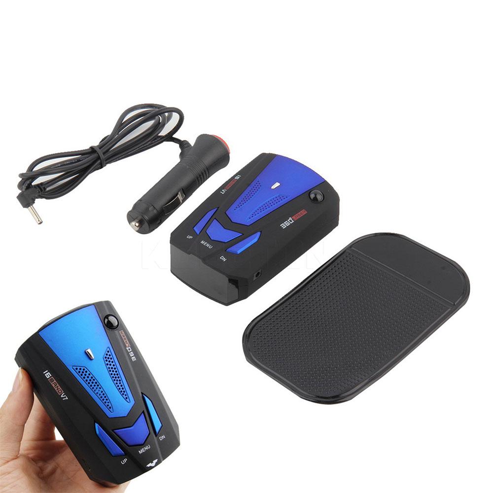 Police Radar Detector App >> 2016 NEW Car Detector 360 Degree Anti Police Radar Detector V7 For Car Speed Limited GPS Radar ...