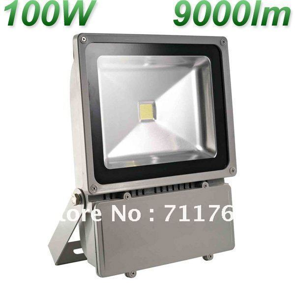 100W IP65 85-265V 9000LM High Power waterpfoof Landscape Lighting LED wall Wash Floodlight Outdoor Lamp, free shipping