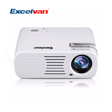 Excelvan EHD11 LCD LED Projector 2600 Lumens Portable Mini Projectors Multimedia Cinema 800*480 USB/AV/HDMI/ATV/VGA Proyector(China (Mainland))