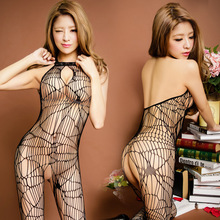 Open Crotch Mesh Leotard Female 2016 Hollow Out Teddies Sexy Transparent Polyester Nylon Bodysuits Adults Lingerie For Sex Games
