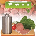 1 Liter Stainless Steel Ham Maker Ham Meat Rolling Machine With a Thermometer Ham Boiler Meat