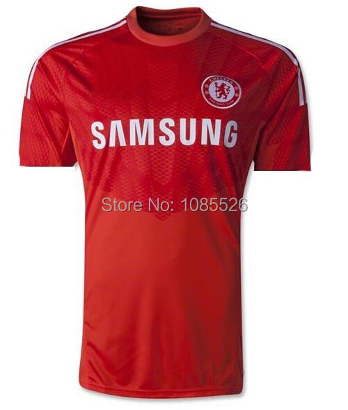 2015 camisetas futbol chelsea goalkeeper jerseys chelsea aoalkeeper red football shirt COURTOIS CECH premier league jerseys(China (Mainland))