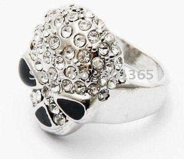 Man's Personalized fashion skull ring 10pcs/lot & Free shipping