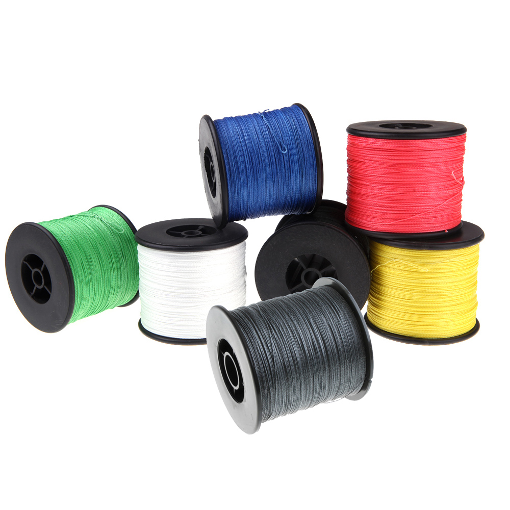 Superior Abrasion Resistance Multifilament 500M 100LB Fishing Line 4 Strands PE Braided Fishing Line 0.5mm Fly Fishing Lines(China (Mainland))