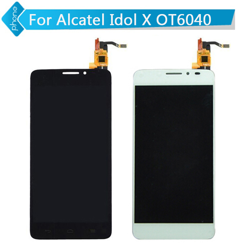 between alcatel one touch idol x 6040 life