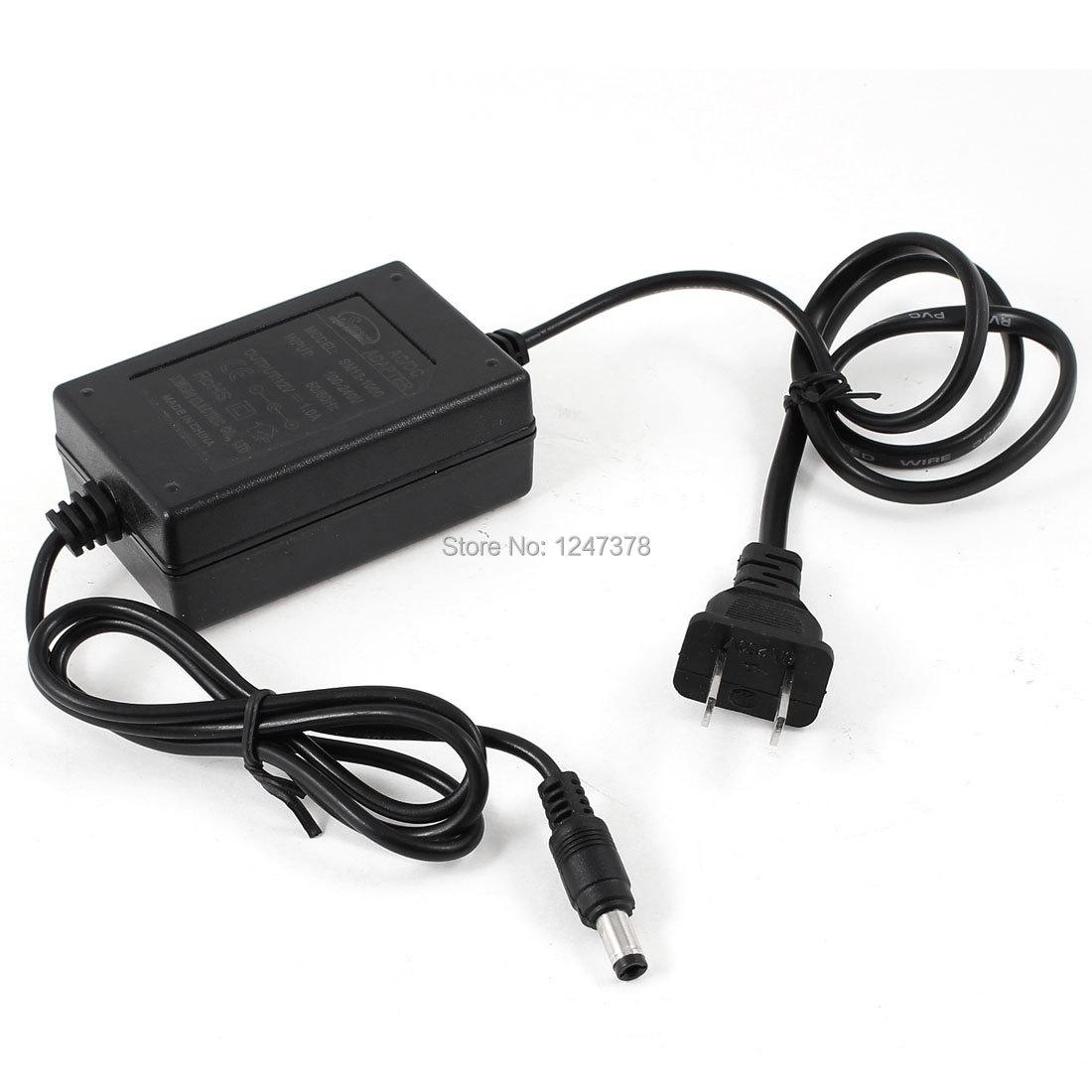 12V 1A US Plug Security Camera Power Supply AC/DC Adapter Output Plastic Houseing(China (Mainland))