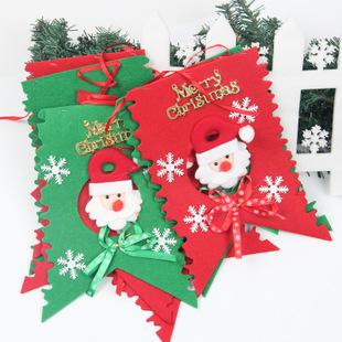 Santa Claus Christmas Decoration Adornos Navidad 2015 Color Flag - MYZ store