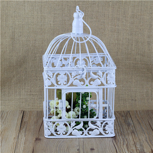 Square metal decorative wedding bird cage-in Carriers from Home ...