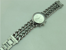 USA M brand Bracelet Strap women dress watch Brand new women lady wristwatch gold and silve