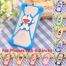 Universal Silicon Cartoon Coque Case Wiko Rainbow lite wiko sunset 2 lenny Selfy 4G Asus Zenfone 3.5~6.5 inch - ShenZhen QY Trading Company store