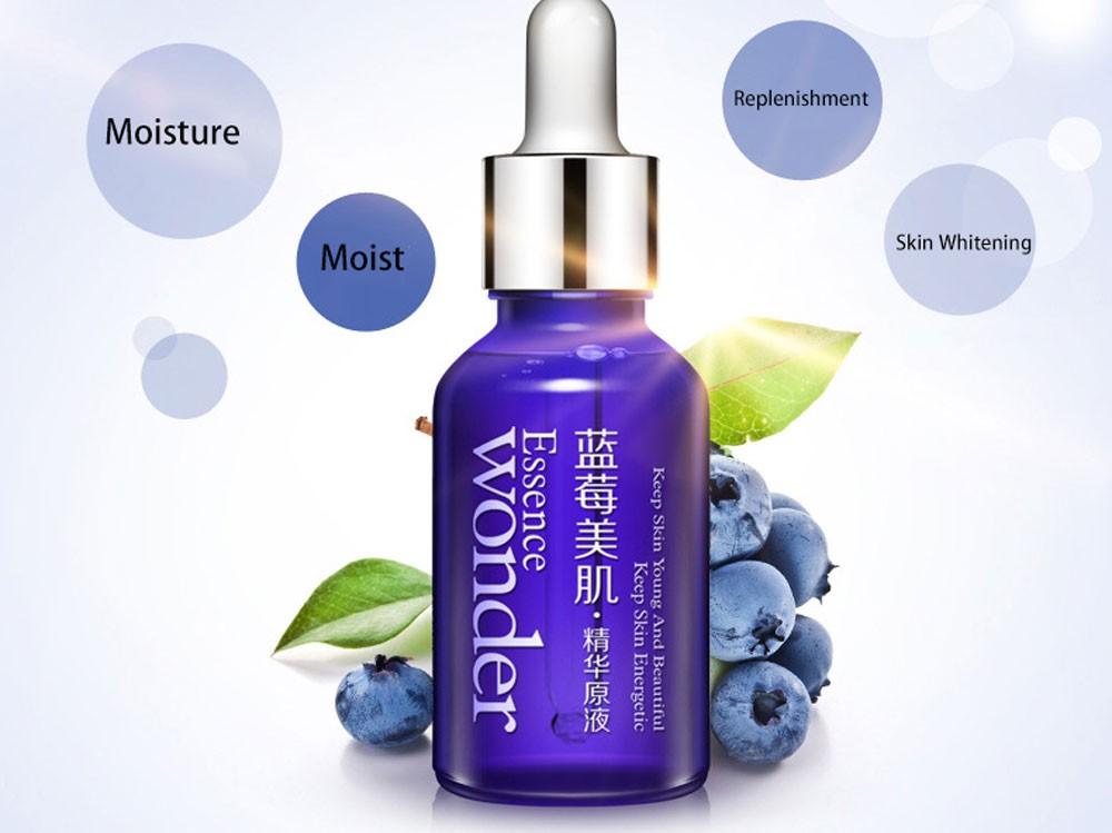 Blueberry Branqueamento Dia Creme Hidratante Óleo de Cuidados da pele Ácido Hialurônico Líquido Essência Anti Rugas Anti Envelhecimento Colágeno Puro