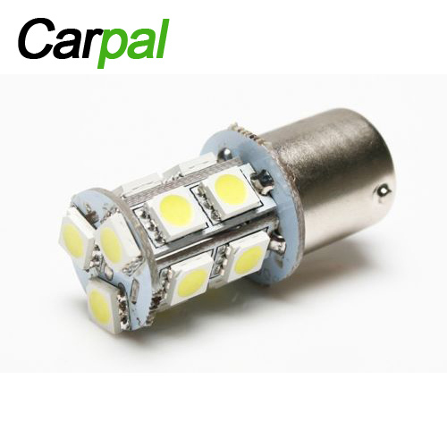 20pcs Lot White 1156 13smd Car Rv Trailer Interior 12v Led Lights Bulbs Ba15s 5050 In Light