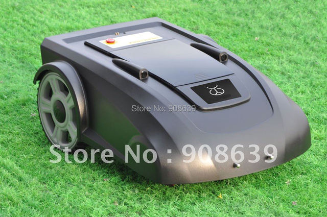 2014 Newest Intelligent Grass Cutter with New Function :ELECONTRONIC COMPASS ,HELP MOWER GOES WELL IN SLOPE LWAN+Li-ion Battery