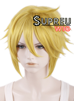 [The Legend Of Zelda Sky Ward Sword] Link Short Yellow Blonde Anime Cosplay Wig