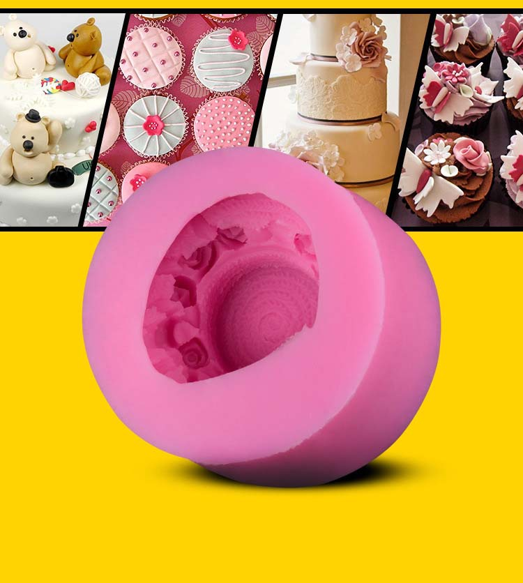 Free shipping cooking tool for DIY Flowers cake mould recipe TR40 cake mold kitchen bake cake tool(China (Mainland))