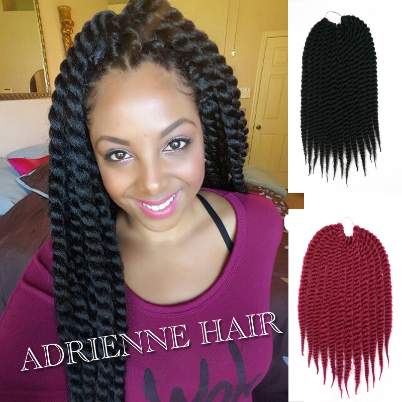 Crochet Braids On Thin Hair : Long Micro Twisted Thin Small Senegalese Crochet Havana Twist Marley ...