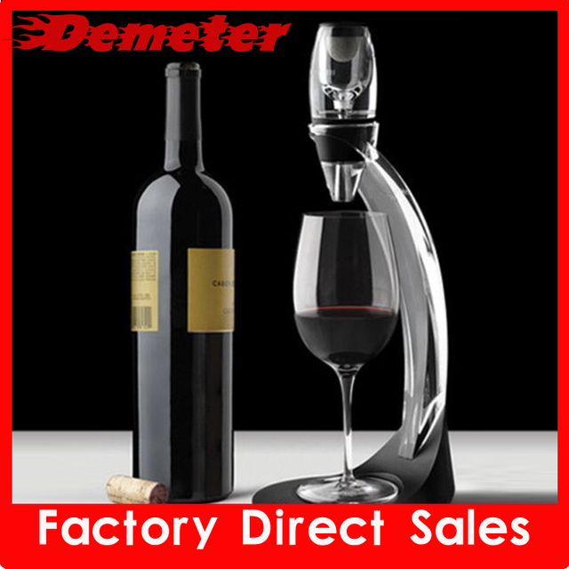 Free shipping wine accessories of wine decanter to keep wine flavor for promotion gift