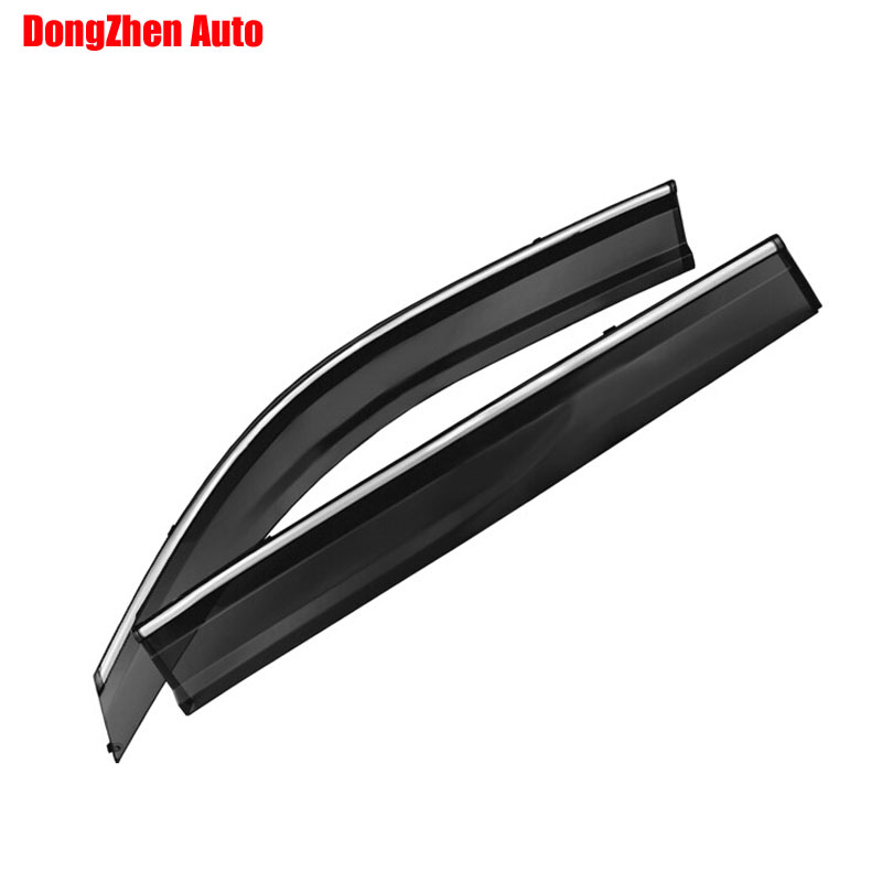 Фотография Auto rain shield window visor car window deflector sun visor covers stickers Fit For MG GS 2015 PC 4pcs/set
