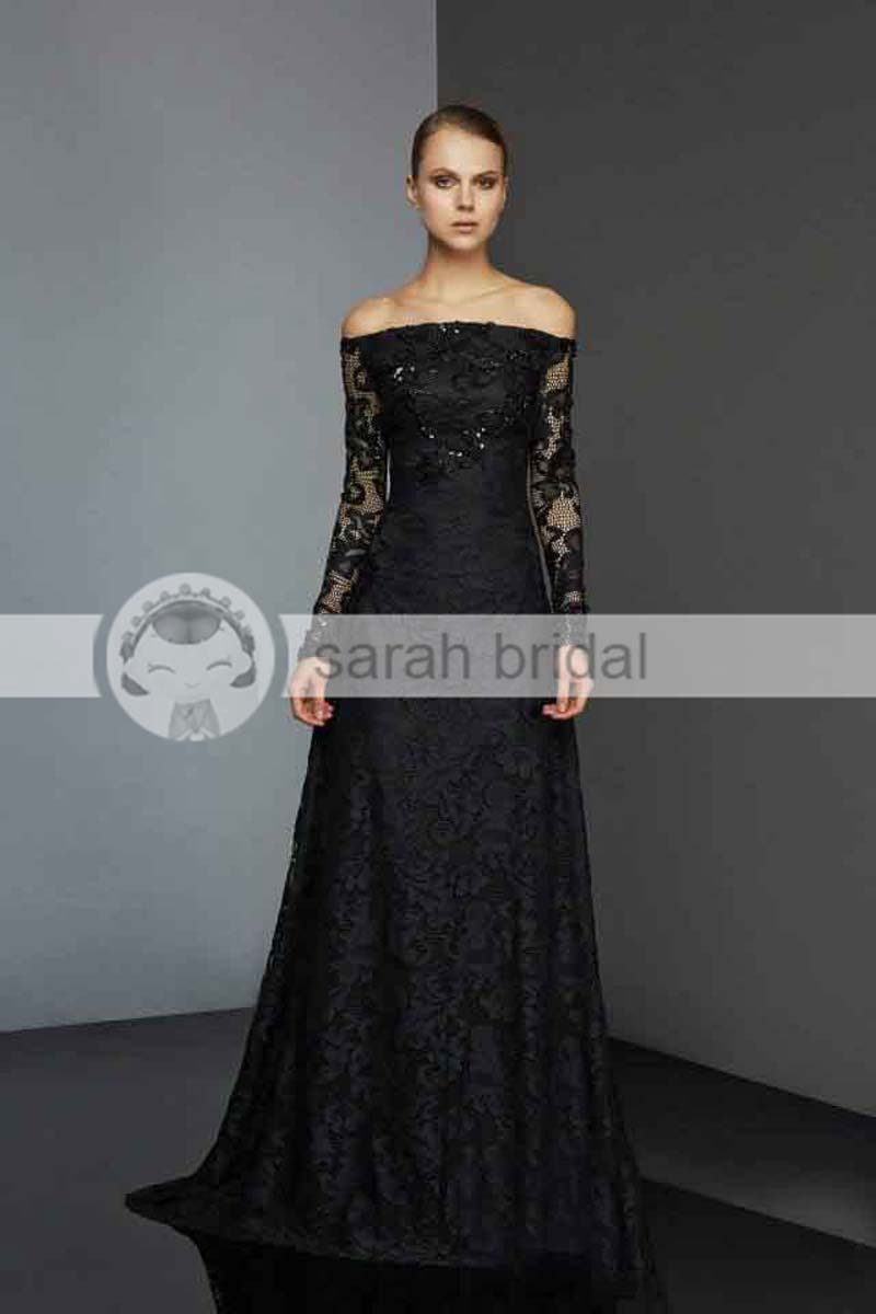 elegant black lace dresses - photo #16