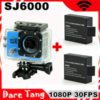 Original WiFi Version SJ6000 WiFi Sport Action Camera 1080P Full HD Waterproof Camcorders 170 Style SJ 6000 video camera DV
