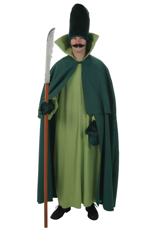 Free shipping THE WONDERFUL WIZARD OF OZ Cosplay City Security costume set coat+cape+hat+gloves(China (Mainland))