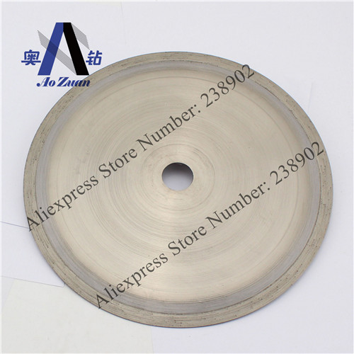 250mm 10 inch Continues Rim Diamond Saw Blade/ Electroplated Lapidary Disc/Cutting Disc Hard Stone Glass, Jade, Agate, Opal etc - Drilling, Cutting and Grinding Expert store