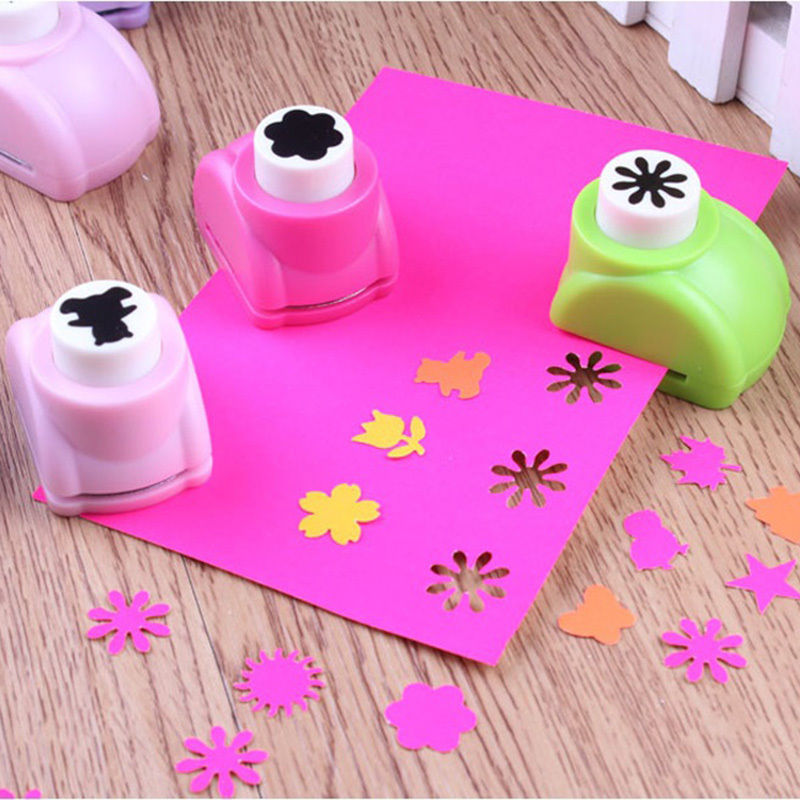 Azeroin 1 PCS Kid Child Mini Printing Paper Hand Shaper Scrapbook Tags Cards Craft DIY Punch Cutter Tools 8 Styles HOT(China (Mainland))