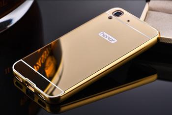 Etui plecki do Huawei Y6 Honor 4A aluminium akryl lustrzane kolory