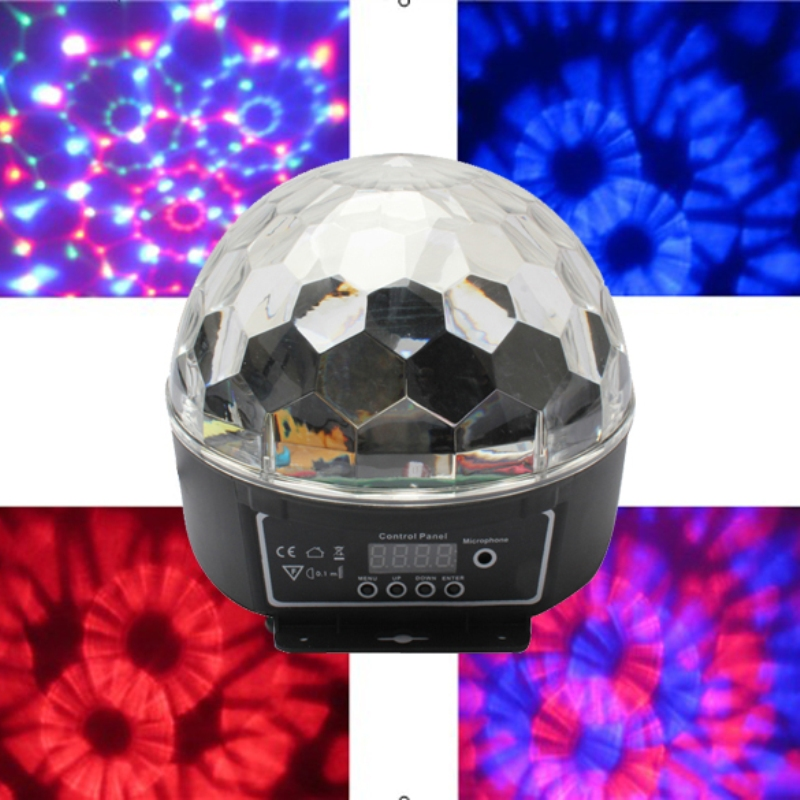 3W high power RGB LED Crystal Magic Ball Effect Disco Stage Lighting DMX Control Panel Party - Shenzhen Huakun Technology Co., Ltd. store