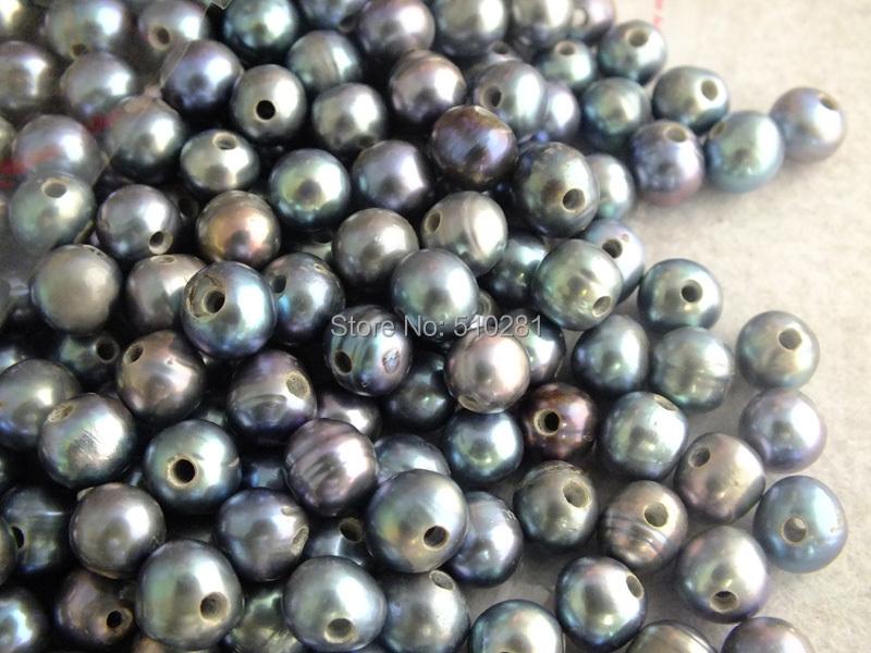 !! 50 9-10mm Freshwater pearl Potato Beads 2mm Hole Fit Necklace Bracelet Z-2269 - Changzhou Tiancai Jewelry Co., Ltd. store