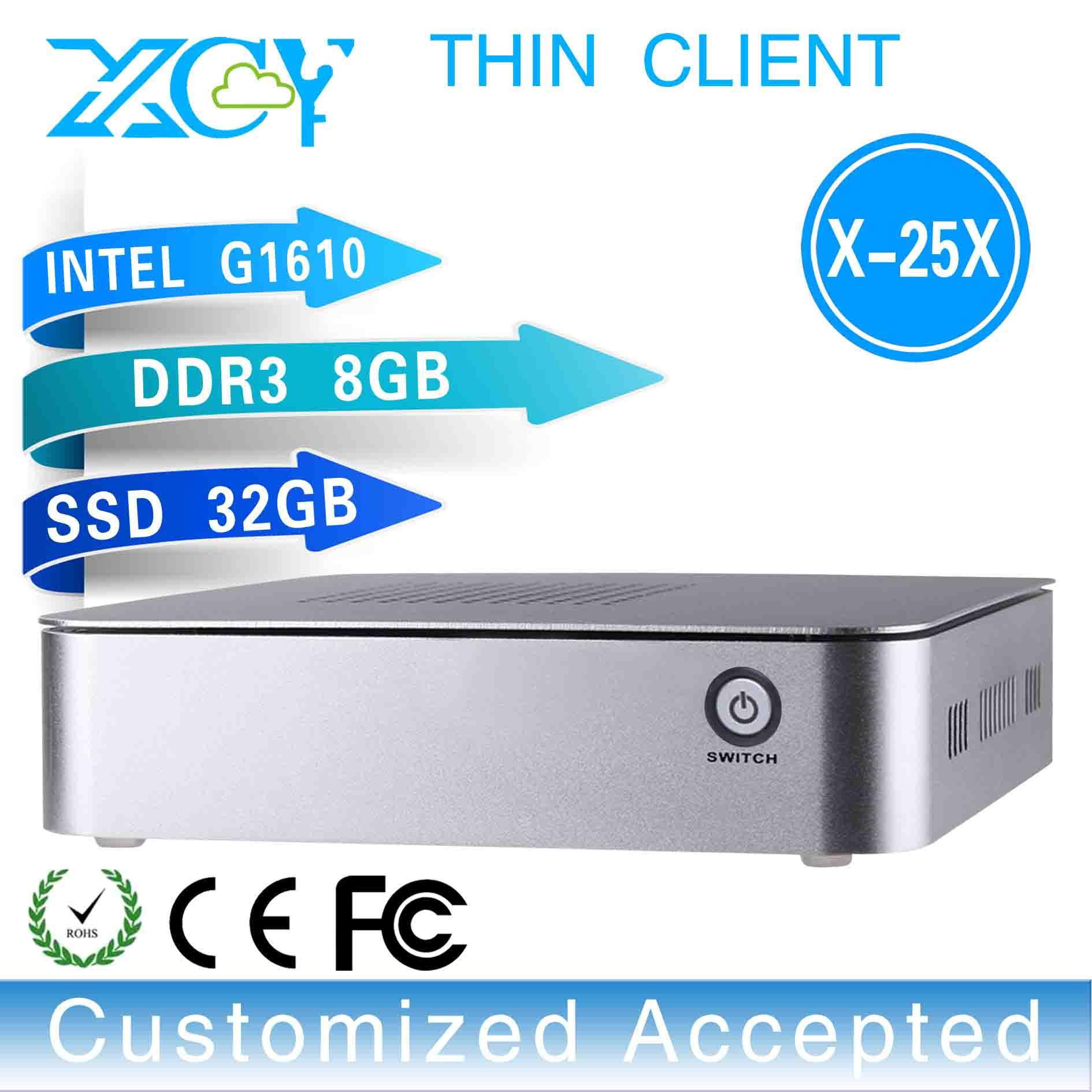 window 8 fan pc G1610 fan mini pc industrial robot industrial chain X-25x G1610 8GB RAM 32GB SSD with 4*USB2.0 etc.(China (Mainland))