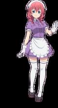 Lcsp blend S канзаки hideri Кофе горничной sakuranomiya маика Косплэй костюм японского аниме единый костюм одежда(China)